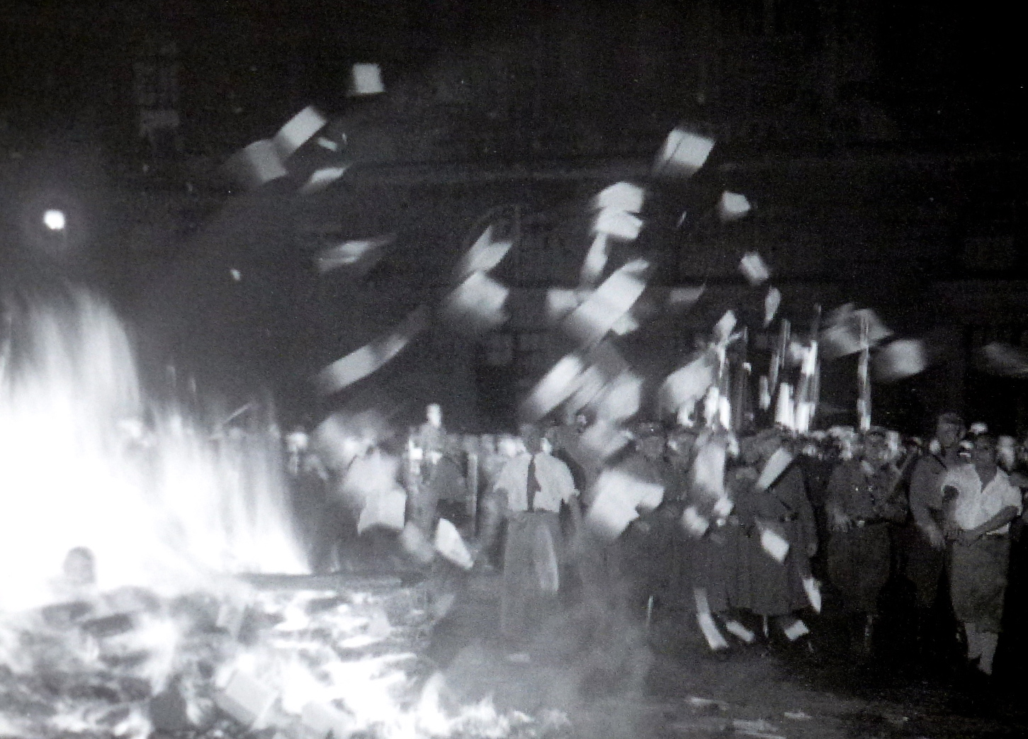 burn the books One long-held image of the middle ages was that book burning was prevalent  and that much of the world's knowledge was being consigned to.